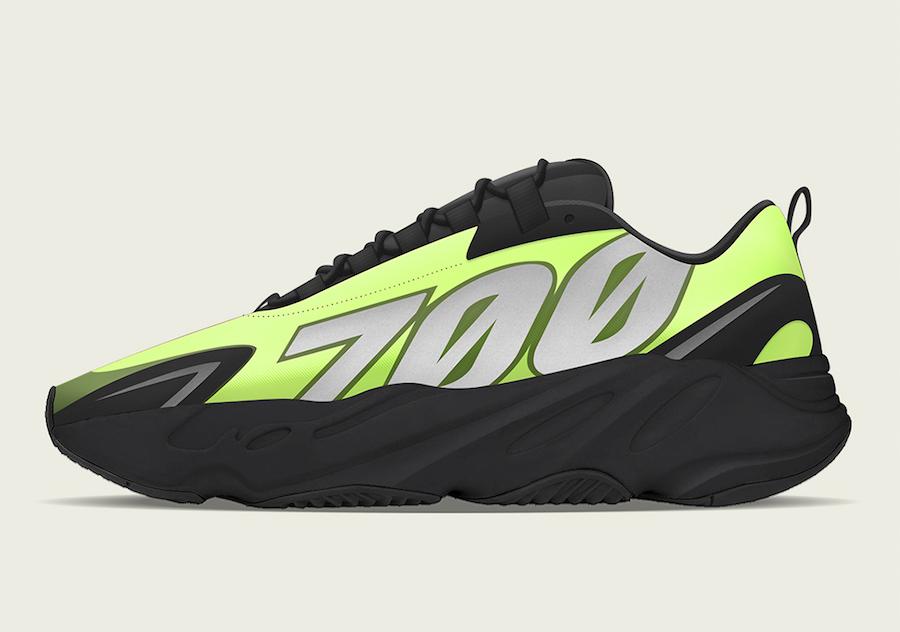 adidas Yeezy Boost 700 MNVN Phosphor Release Date Info