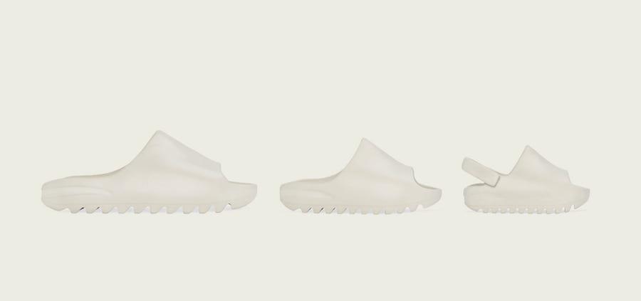 adidas Yeezy Slide Bone Release Date Info