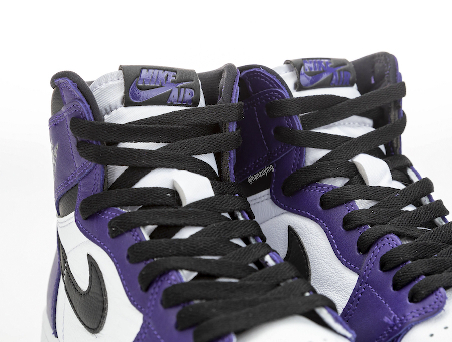 Air Jordan 1 Court Purple 2020 555088-500 Release Info