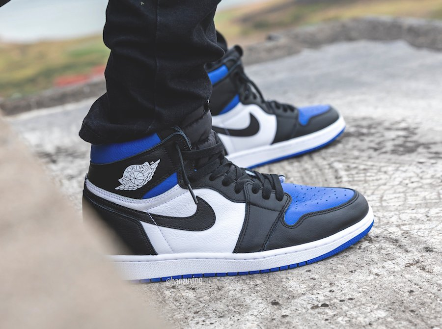 Air Jordan 1 Game Royal Toe 555088 041 Release Info Sneakerfiles