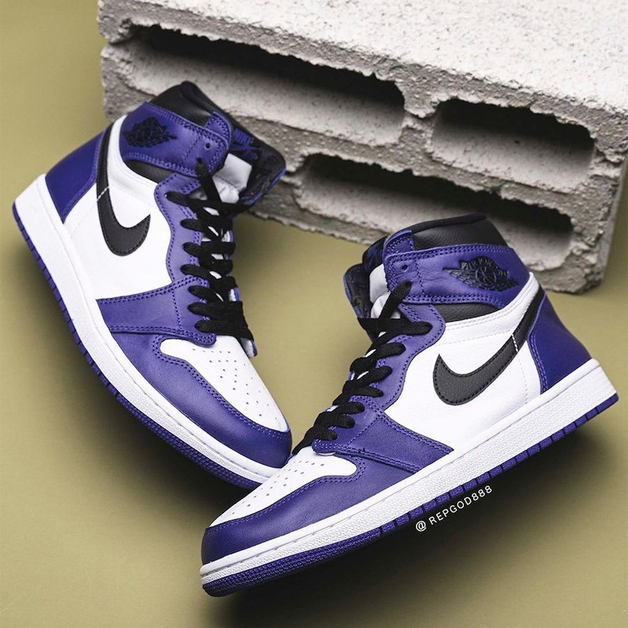 Air Jordan 1 High OG Court Purple 555088-500 Release Date
