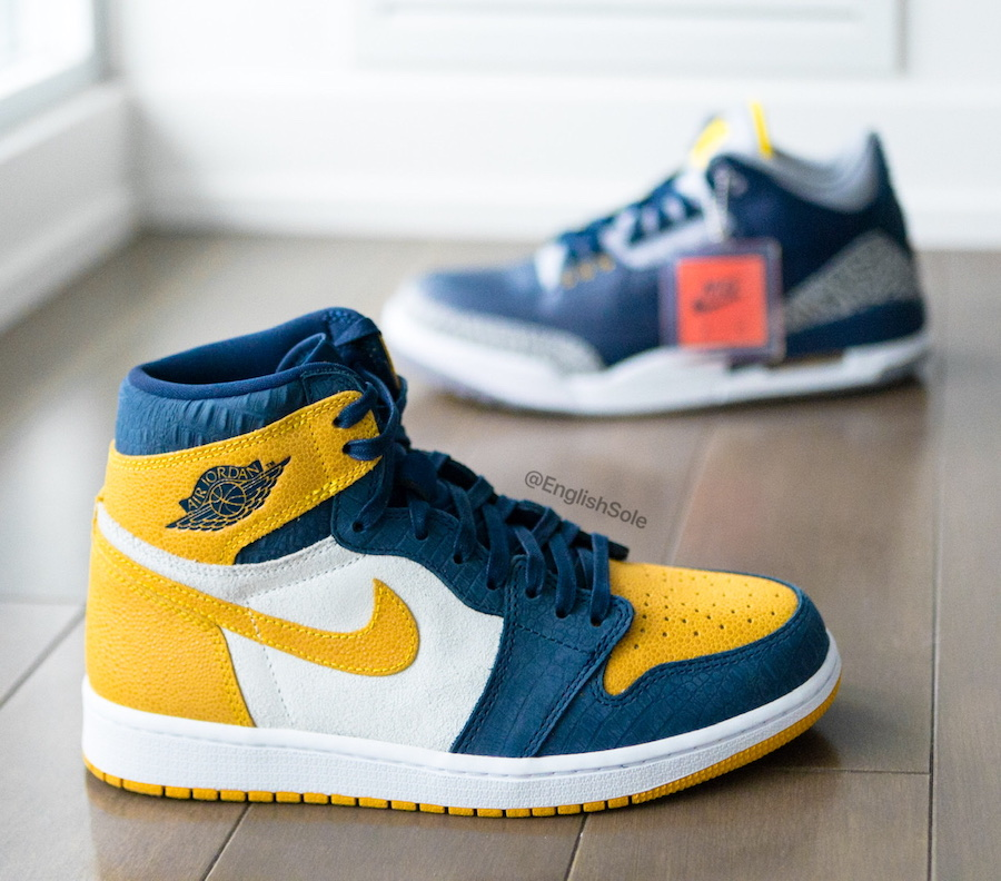 Air Jordan 1 High OG Michigan PE
