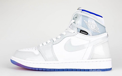 Air Jordan 1 High Zoom R2T White Racer Blue Release Date