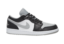 Air Jordan 1 Low Black Light Smoke Grey 553558-039 Release Date Info