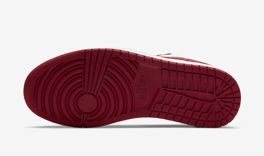 Air Jordan 1 Low Gym Red White 553558-611 Release Date