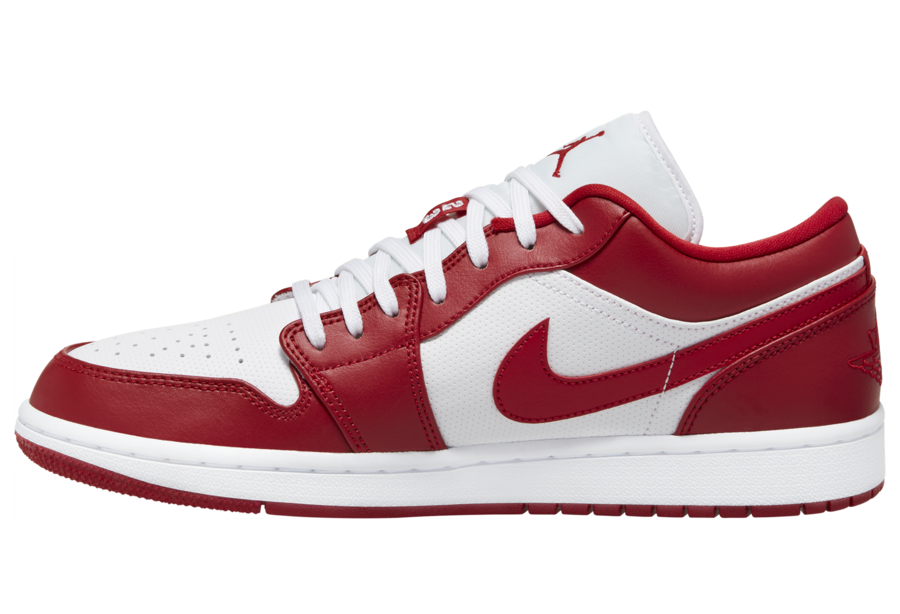 Air Jordan 1 Low Gym Red White 553558-611 Release Date Info