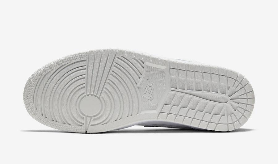 Air Jordan 1 Low White Sky Grey Football Grey CV3043-100 Release Date Info