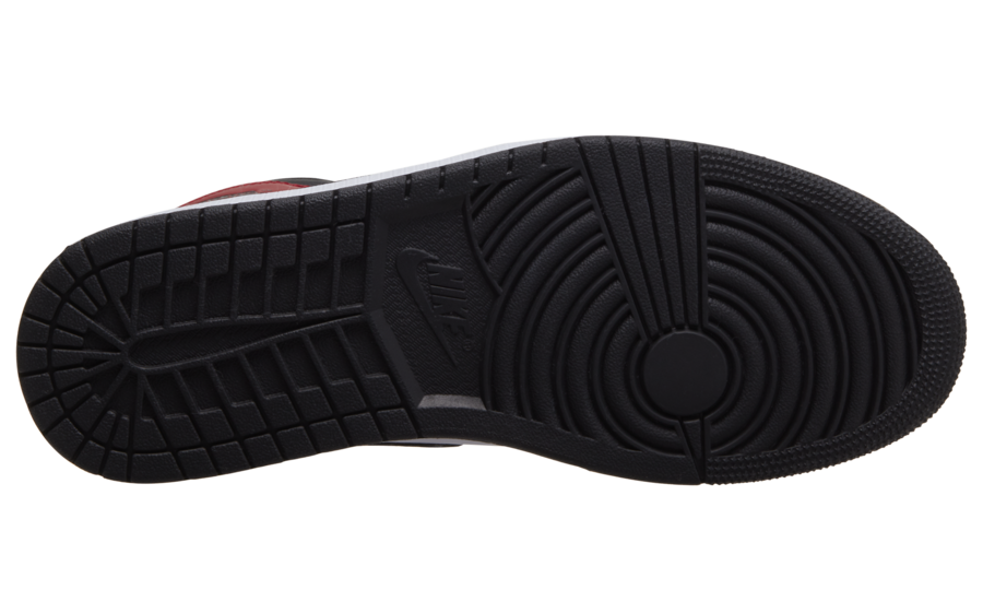 Air Jordan 1 Mid Chicago Black Toe 554724-069 Release Date Info
