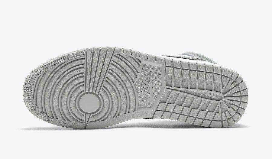 Air Jordan 1 Mid Light Smoke Grey 554724-092 Release Date