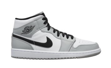 Air Jordan 1 Mid Light Smoke Grey 554724-092 Release Date Info