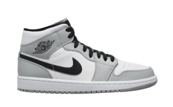 Air Jordan 1 Mid Light Smoke Grey 554724-092 Release Date Info