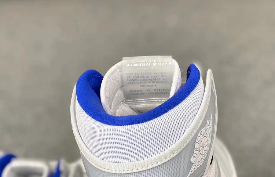 Air Jordan 1 Zoom R2T White Racer Blue CK6637-104 2020
