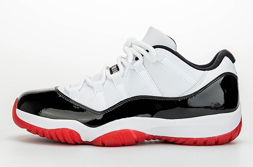 Air Jordan 11 Low White University Red Black True Red Release Date