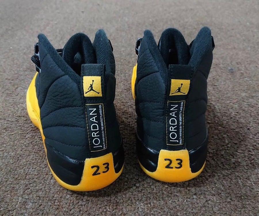 Air Jordan 12 Black University Gold Release Date