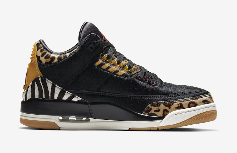 Air Jordan 3 Animal Instinct CK4344-002 Release Date