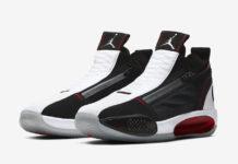 Air Jordan 34 SE White Black Red CU1548-001 Release Date