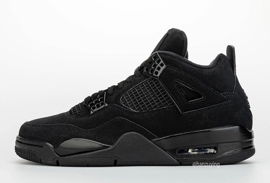 Air Jordan 4 Black Cat CU1110-010 2020 Retro Release Date