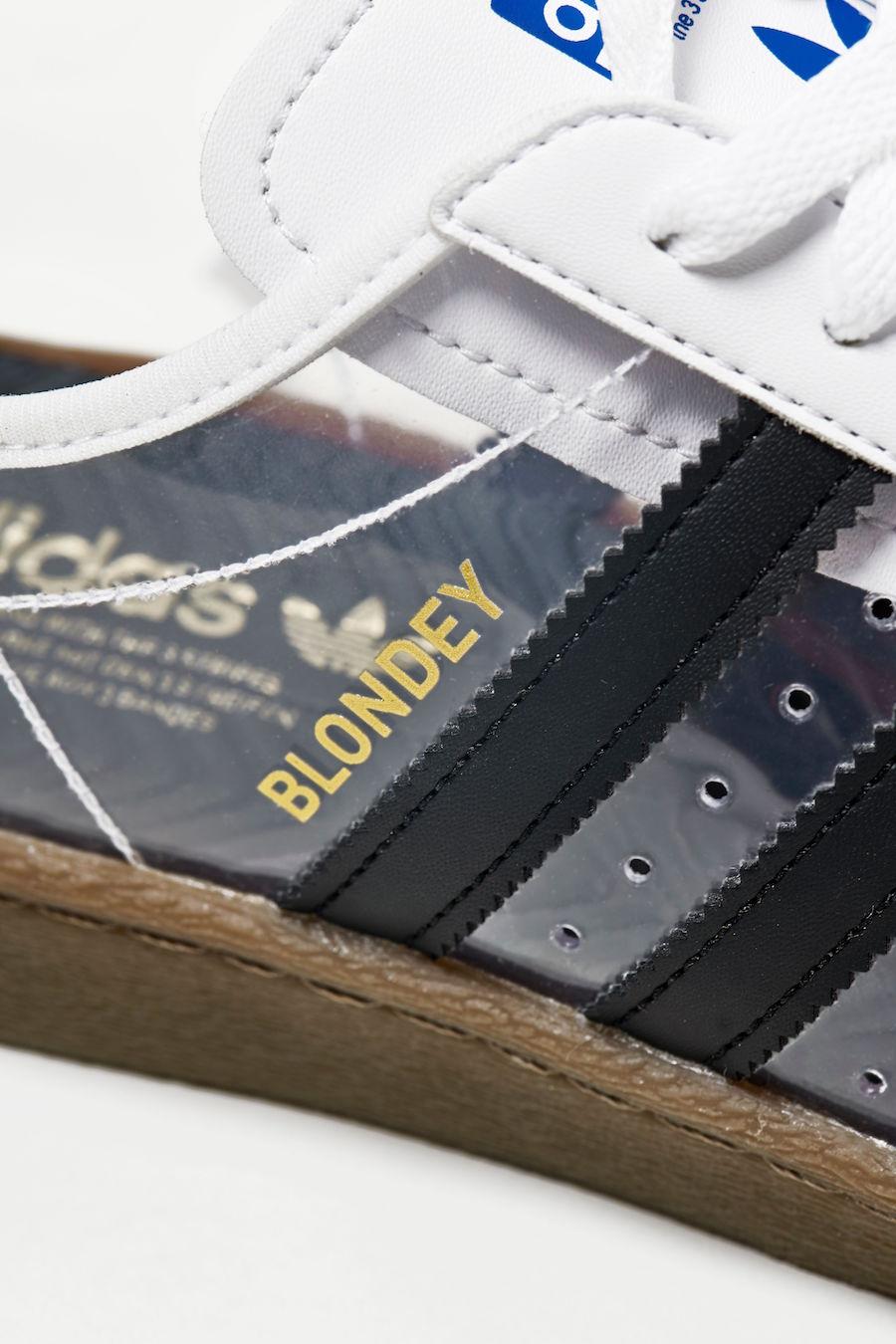 Blondey adidas Superstar 80s