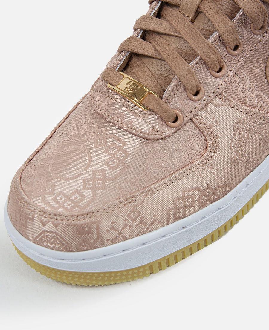 Clot Nike Air Force 1 Rose Gold CJ5290-600