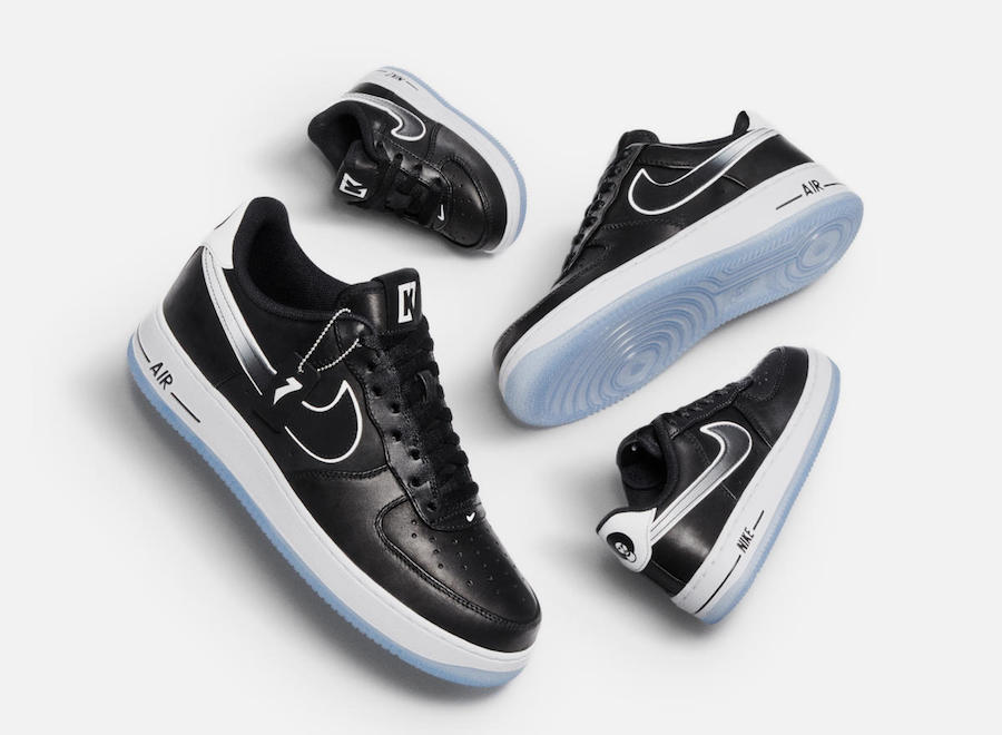 Colin Kaepernick Nike Air Force 1 CQ0493-001 Release