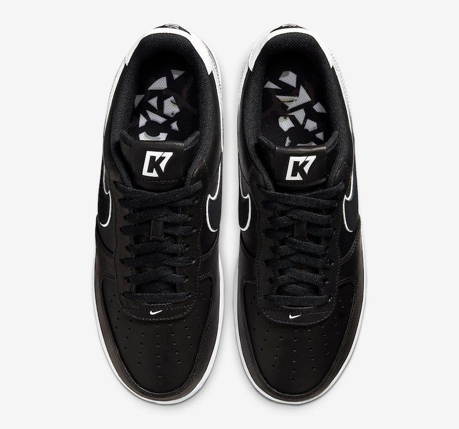 Colin Kaepernick Nike Air Force 1 Low CQ0493-001