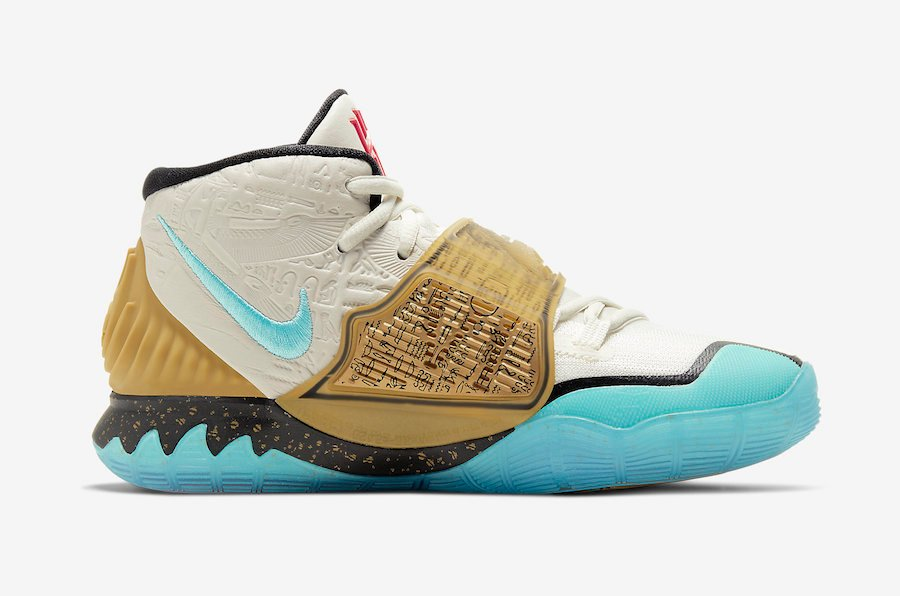 Concepts Nike Kyrie 6 Golden Mummy CV5572-149 Release