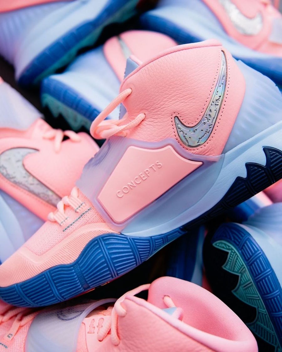Concepts Nike Kyrie 6 Pink CU8879-600 Release