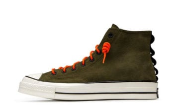 Converse Chuck 70 High Top Nubuck Leather Olive Release Date Info