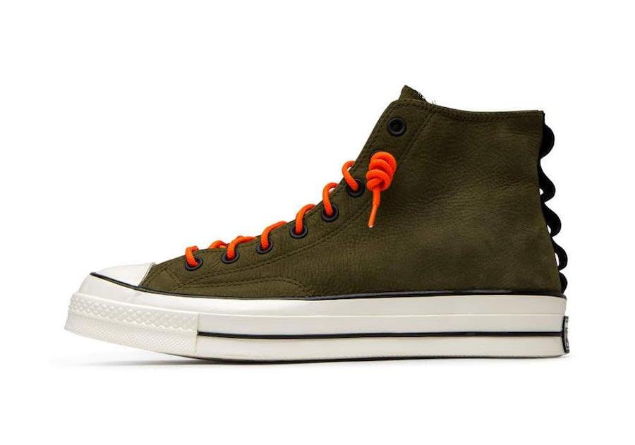 Converse Chuck 70 High Top Nubuck Leather Olive Release Date Info