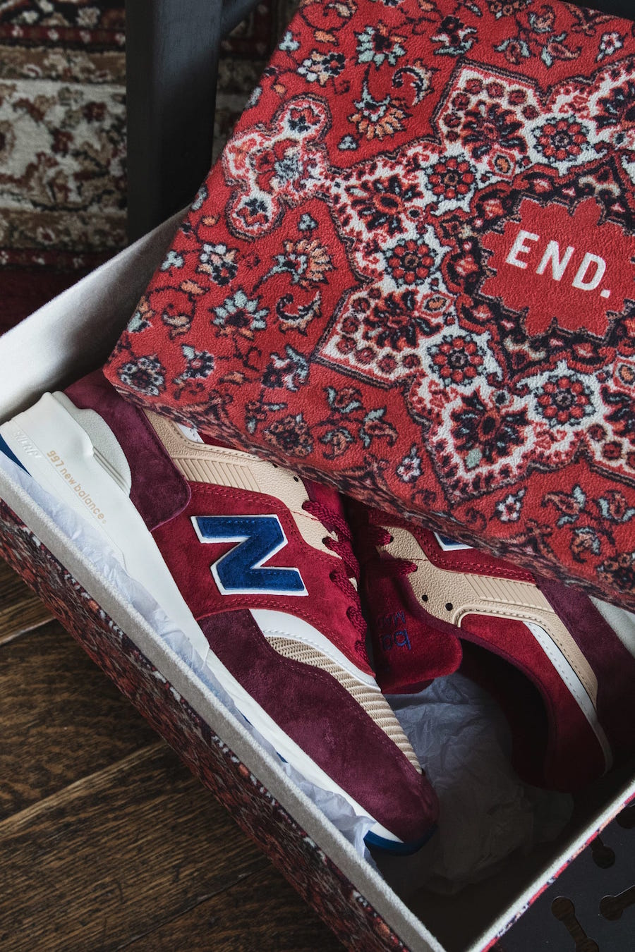 END New Balance 997 Persian Rug Release Date Info
