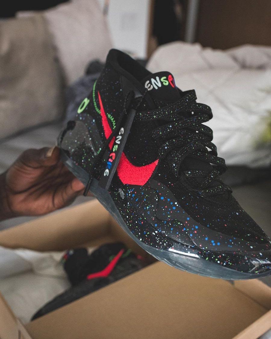 Enspire Nike KD 12 Black Release Date Info