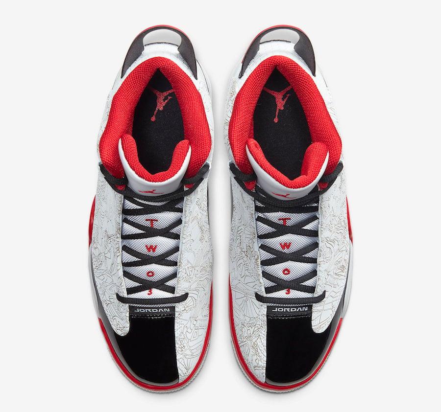 Jordan Dub Zero OG White Black Red 311046-116 Release Date