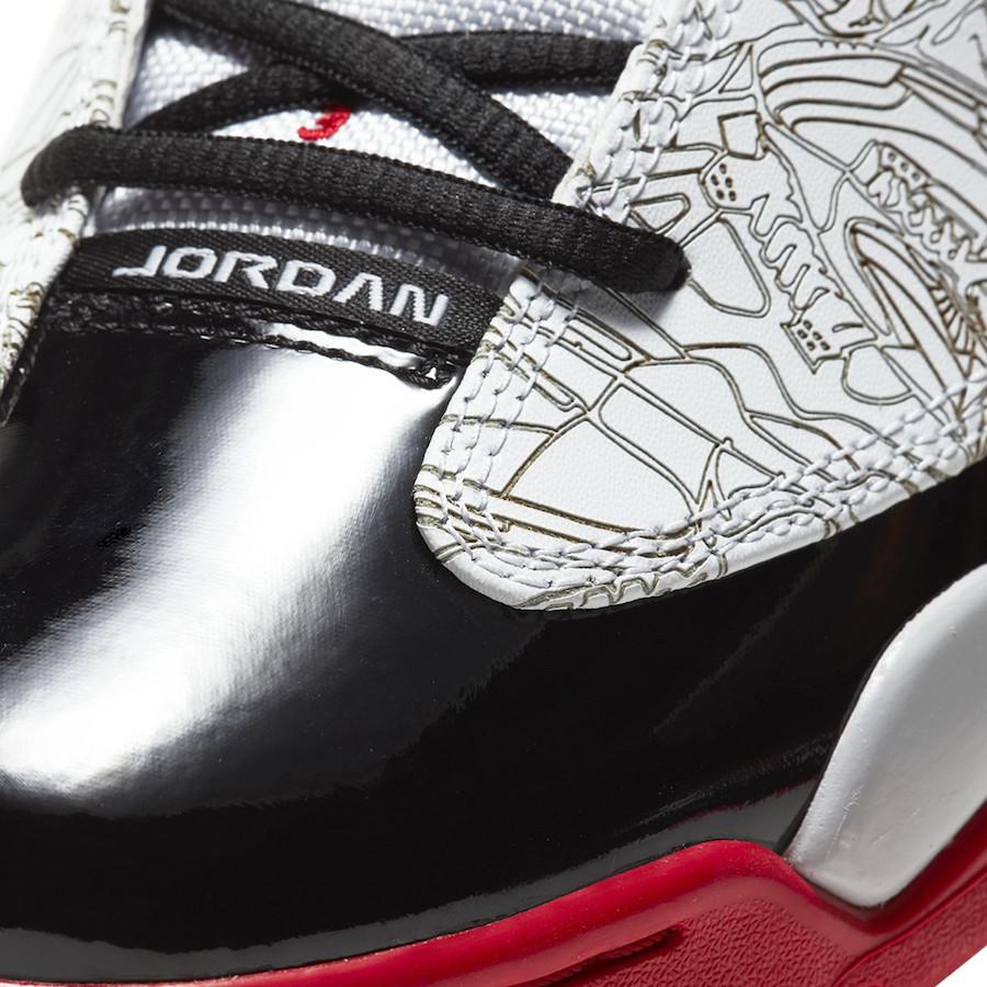Jordan Dub Zero OG White Black Red Release Date Info