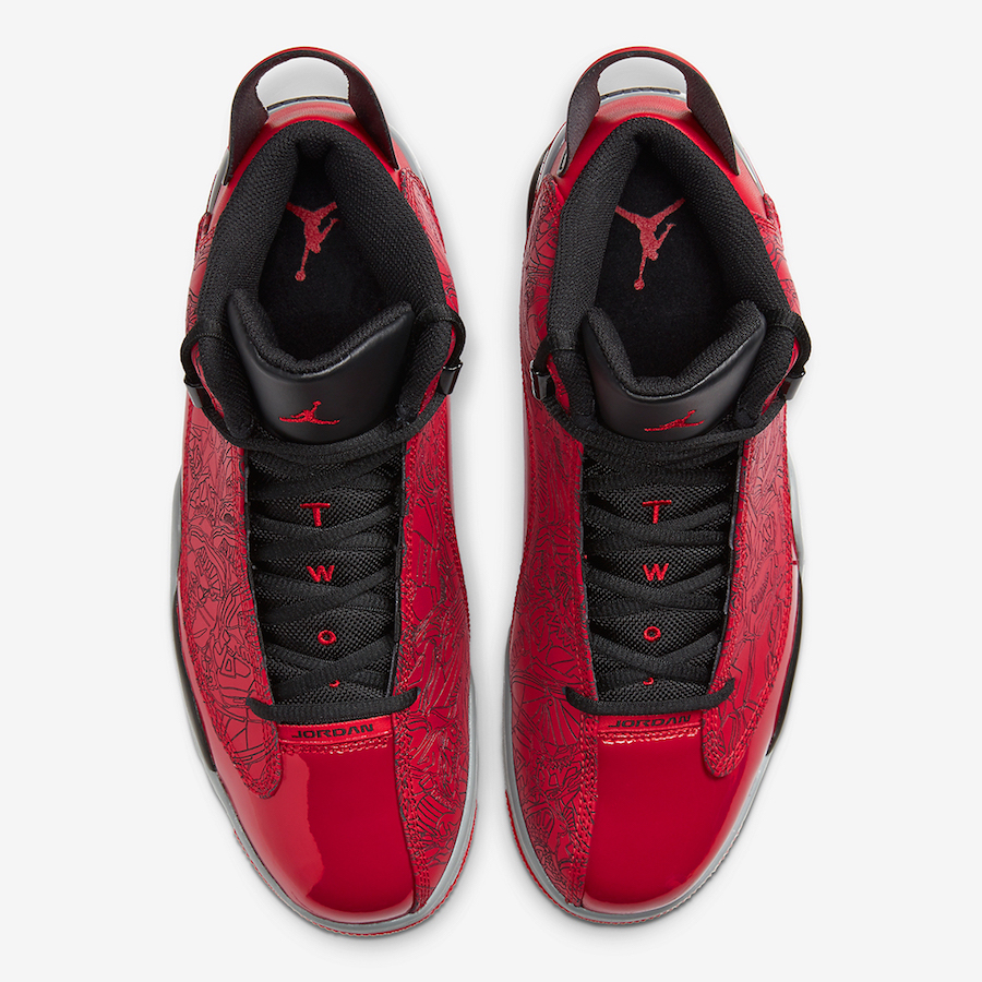 Jordan Dub Zero Toro Red Black 311046-600 Release Date Info