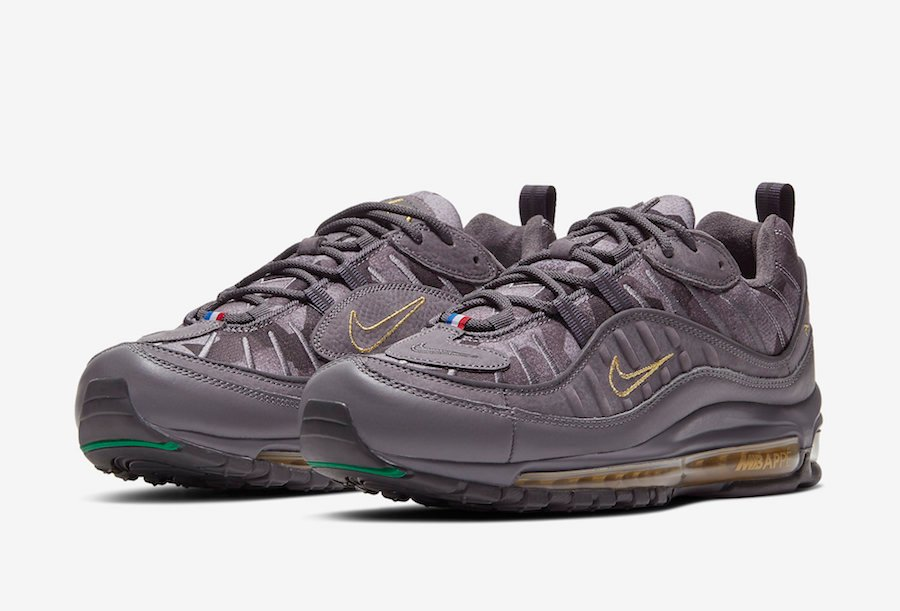 Kylian Mbappé Nike Air Max 98 CT1531-001 Release Date Info