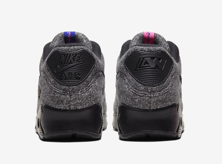 Loopwheeler Nike Air Max 90 CQ7854-001 Release Date