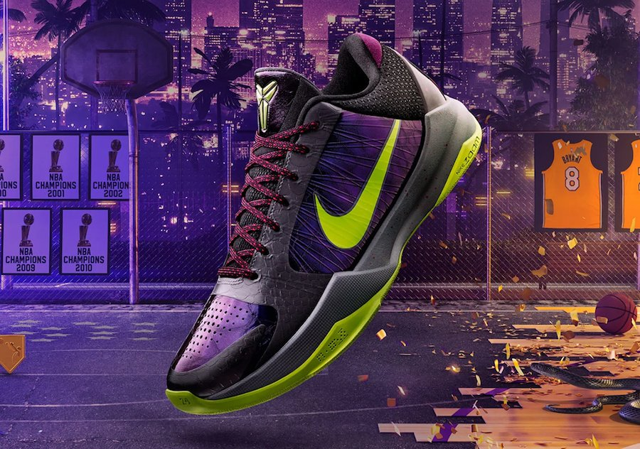 NBA 2K20 Nike Kobe 5 Protro Alternate Chaos Release Date Info