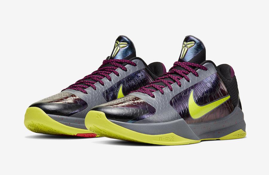 NBA 2K20 Nike Kobe 5 Protro Chaos