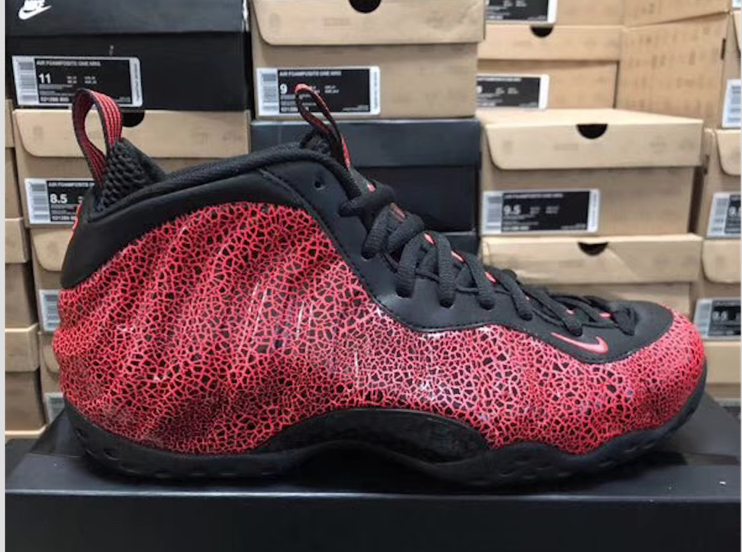 Nike Air Foamposite One Lava 314996-014 2020 Release Date
