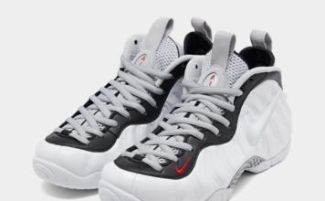 Nike Air Foamposite Pro White University Red Black 624041-103 Release Info