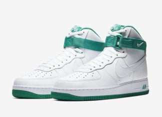 Nike Air Force 1 High Neptune Green CD0910-101 Release Date Info