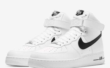 Nike Air Force 1 High White Black CK4369-100 Release Date Info