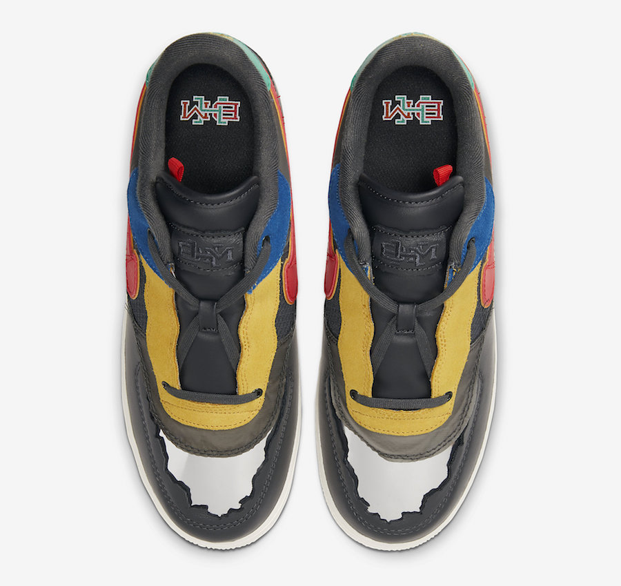 Nike Air Force 1 Low BHM Black History Month 2020 CT5534-001 Release