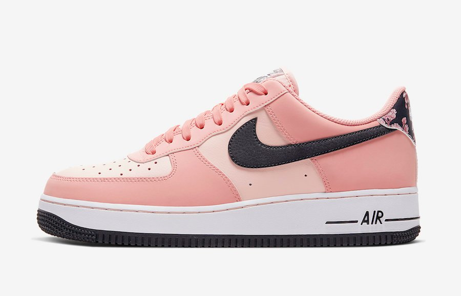 Nike Air Force 1 'Pink Quartz' with Floral Print Releasing