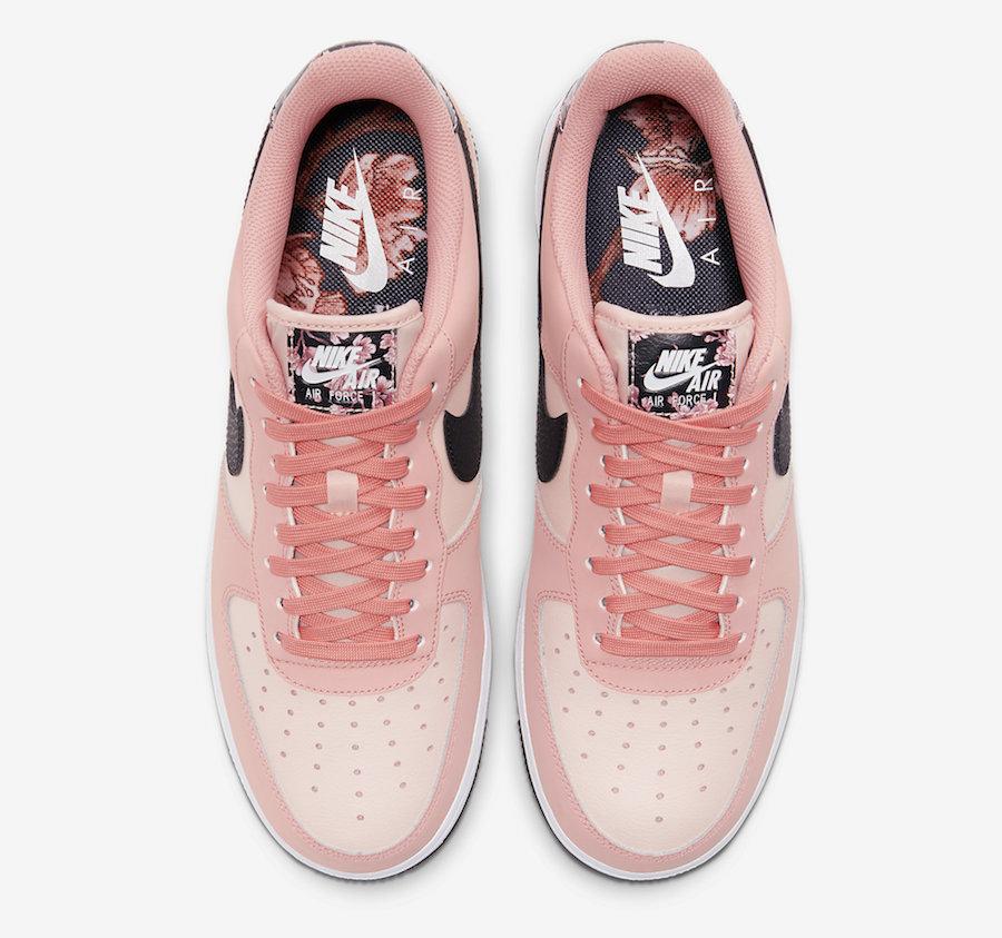 Nike Air Force 1 Pink Quartz CU6649-100 Release Date Info