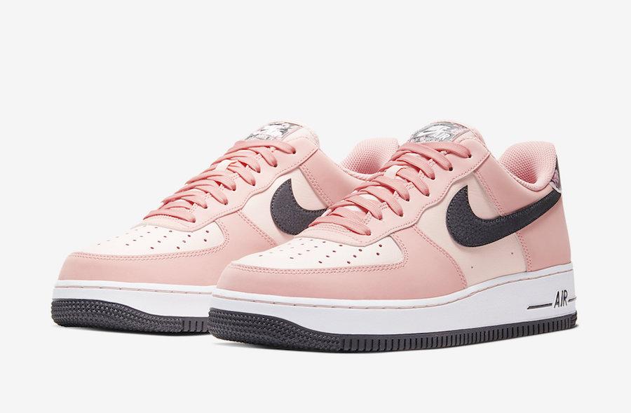 Nike Air Force 1 Pink Quartz CU6649-100 Release Date Info | SneakerFiles