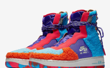Nike Air Force 1 Rebel XX Sherpa CQ7518-571 Release Date Info