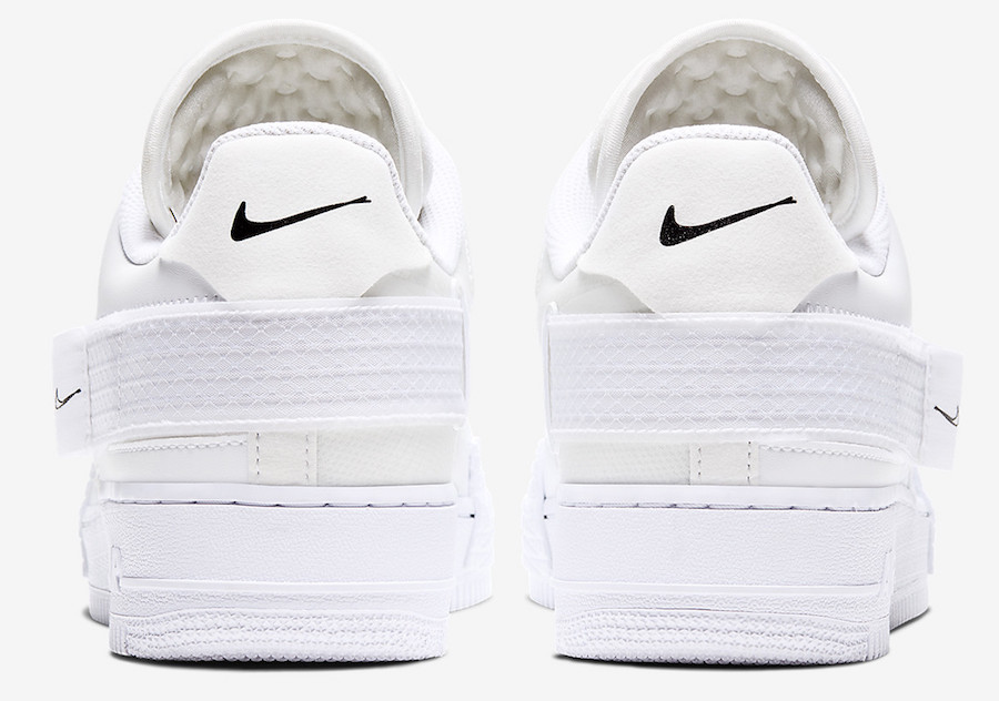 Nike Air Force 1 Type White CQ2344-101 Release Date Info