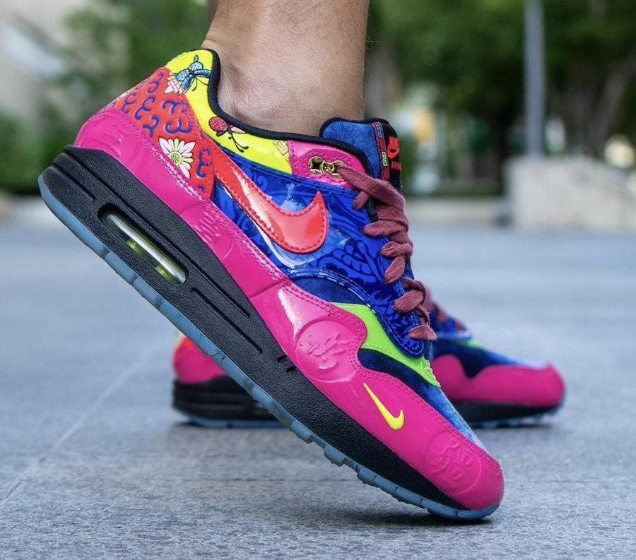 Nike Air Max 1 CNY Longevity CU8861-460 On Feet