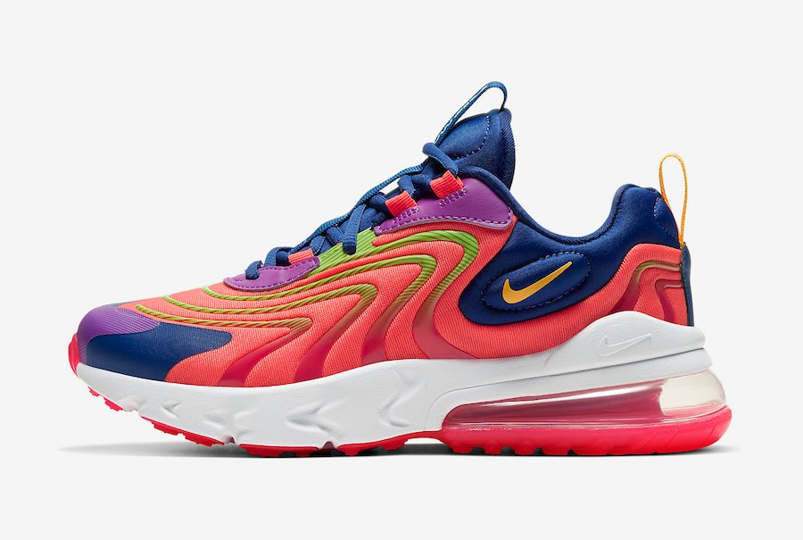 Nike Air Max 270 React CD6870-600 Release Date Info